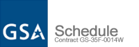 GSA Schedule Contract GS-35F-0014W